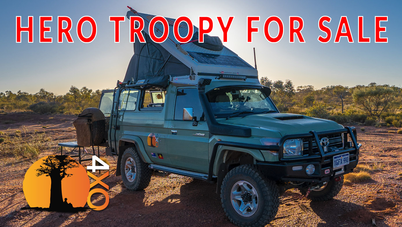 4xOverland's Hero Troopy is for sale