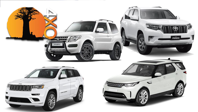 JEEP GRAND CHEROKEE, DISCOVERY, PAJERO, PRADO. The best 4×4 off-road SUVs