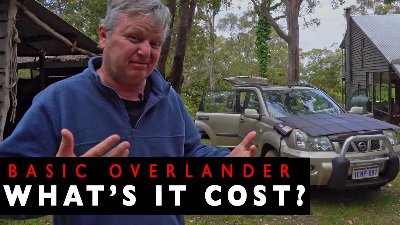 BUDGET OVERLANDER ACCESSORIES, COSTS AND SUMMARY   4xOverland