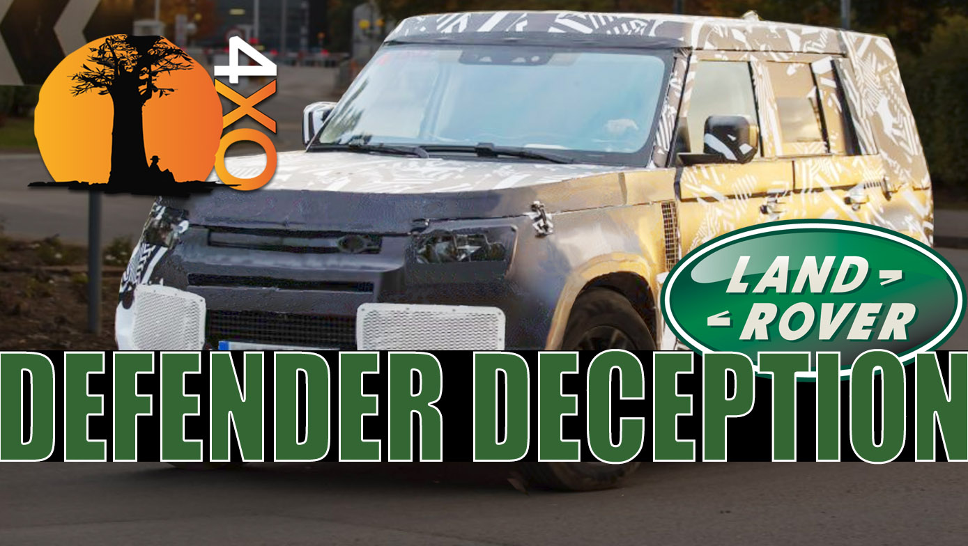 New Land Rover Defender a HOAX? And could it ever be the best 4x4xFar?