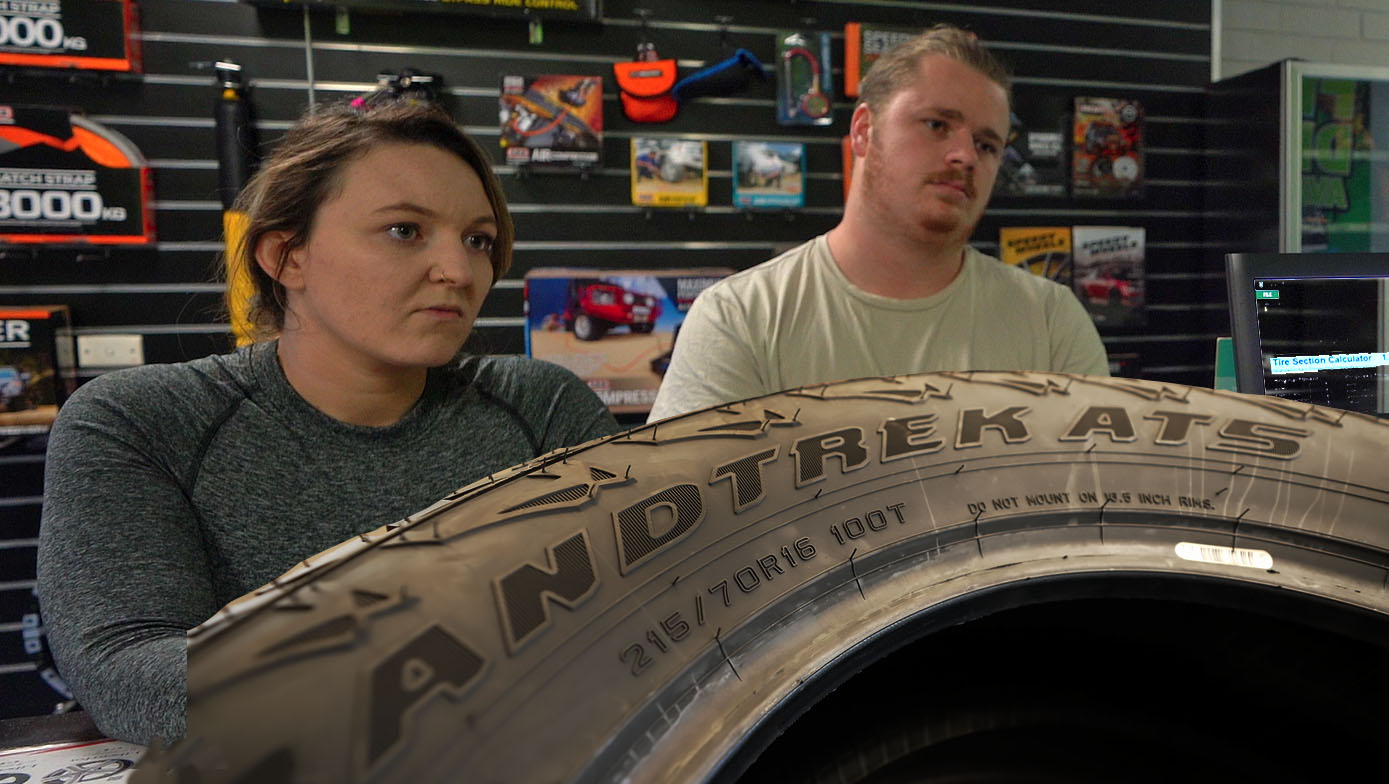 TYRES FOR THE BUDGET OVERLAND TOURER   4xOverland